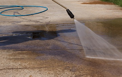The difference between pressure washing and power washing?